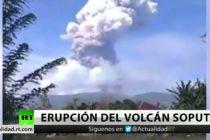 El terror parece no terminar para Indonesia: volcán Sopután entró en erupción
