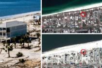 Historia increíble: una casa enfrentó con éxito el paso del huracán Michael en México Beach