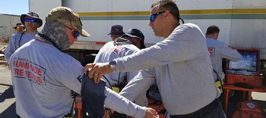 Florida Task Force One continúa con búsqueda y rescate al norte de Florida