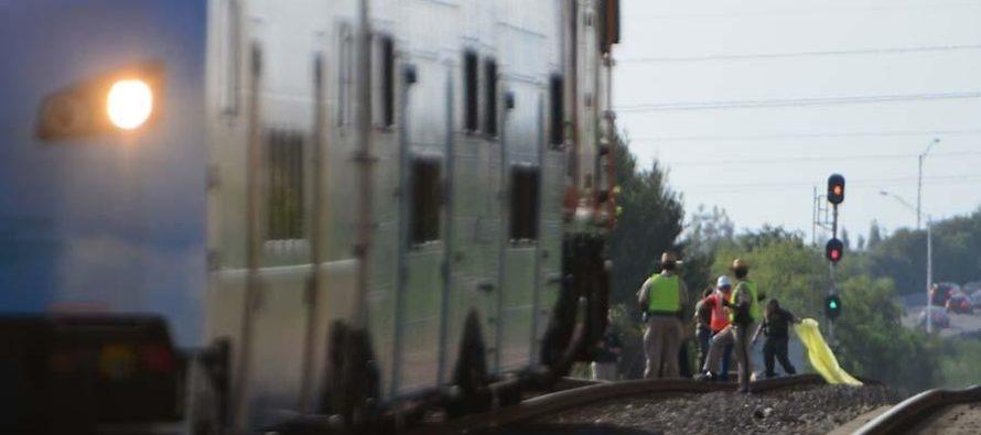 Murió peatón tras ser arrollado por tren Tri-Rail en Hallandale Beach