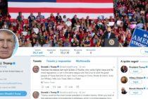 Biblioteca Presidencial de Twitter Donald J. Trump llega a Miami Beach