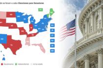 Resultados de las elecciones por el Senado en EE. UU.