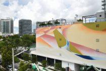 Extraordinario mural de más de 50 kilómetros decora lujoso complejo residencial en Miami
