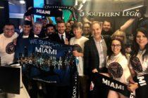 David Beckham llegó a Florida para la crucial votación por el Miami Freedom Park