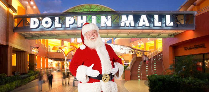 Santa Claus dedicado a los niños con discapacidad en el Dolphin Mall