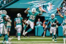 Dolphins regresaron al triunfo ante Jets a punta de intercepciones