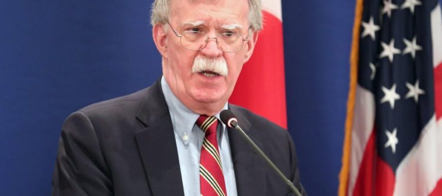 John Bolton en Miami: EEUU prohíbe a sus ciudadanos negociar con oro venezolano