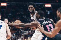 Heat perdieron tercer duelo seguido en casa ante Sixers