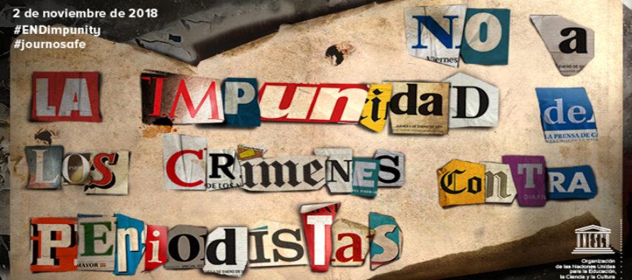 SIP pide unidad en Día Internacional para Poner Fin a la Impunidad de los Crímenes contra Periodistas
