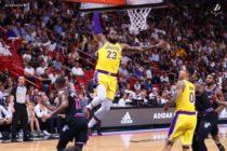 LeBron James destrozó al Heat en su regreso a Miami