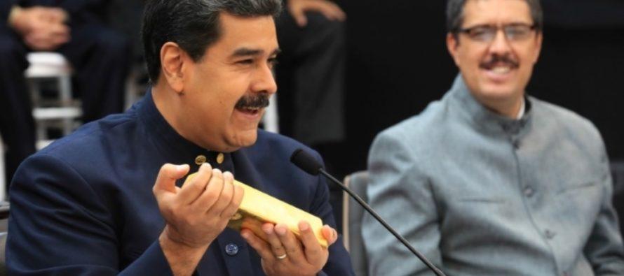 ¡Guiso rojo! Desfalco del chavismo sería de $400.000 millones y 8 toneladas de oro