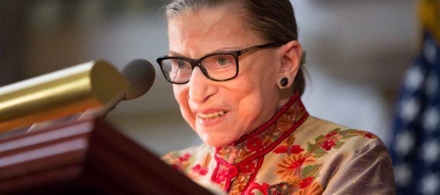 Hospitalizada Ruth Bader Ginsburg, Jueza del Tribunal Supremo