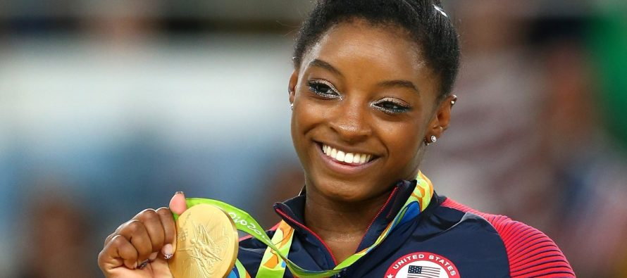 ¿Es Simone Biles la mejor atleta de los Estados Unidos?