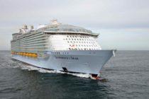 En Puerto Cañaveral: Crucero más grande del mundo debuta este jueves