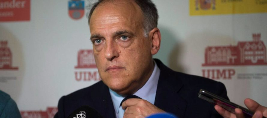 Presidente de la Liga española insiste en el partido en Miami