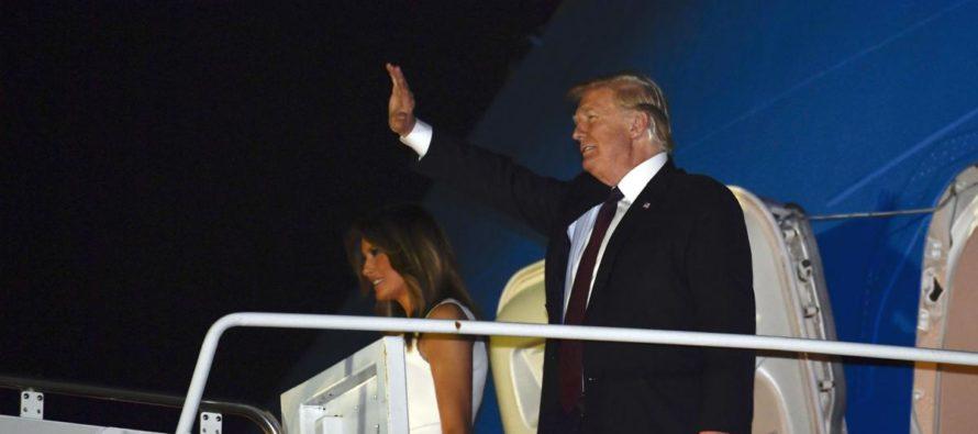 Trump y su familia pasarán Acción de Gracias en Mar-a-Lago
