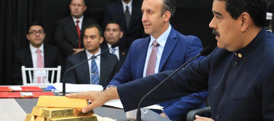 Según WSJ EE.UU planea sancionar exportación de oro en Venezuela