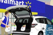 Ford y Walmart se unen para crear un servicio de entrega sin conductor