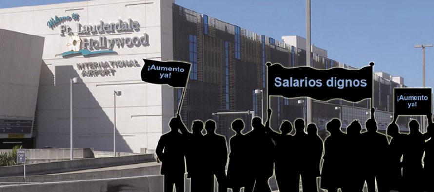 Trabajadores aeroportuarios marcharán hoy por mejoras salariales