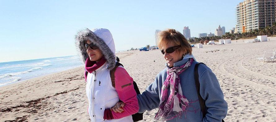 ¡A abrigarse bien! Termómetros caen por llegada de frente frío a Miami