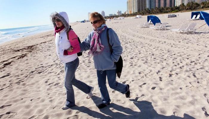 Frío ártico llega al sur de la Florida - MiamiDiario.com