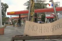 Desabastecimiento de gasolina afecta a más de diez estados y a la capital de Venezuela