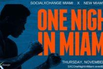 Hasta el 18 de este mes «One Nigth in Miami» revive la noche del Campeonato Mundial de Cassius Clay en Miami Beach
