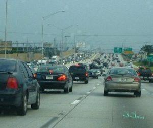 Cierran todos los carriles sentido norte de la I-95 por incendio de camión