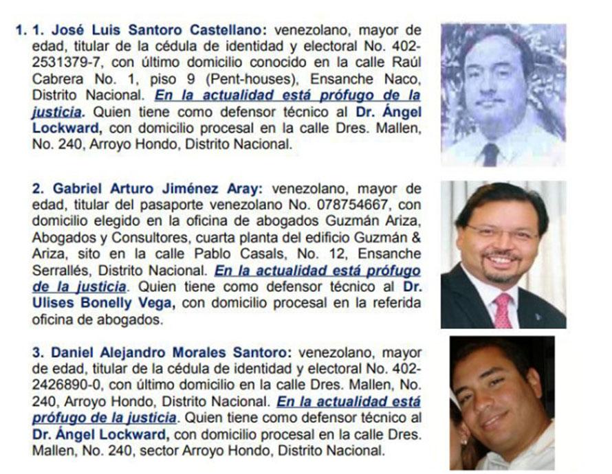 Hacen público expediente contra banquero venezolano Gabriel Jiménez Aray
