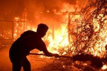 Estrellas de Hollywood afectadas por avance de feroz incendio en California