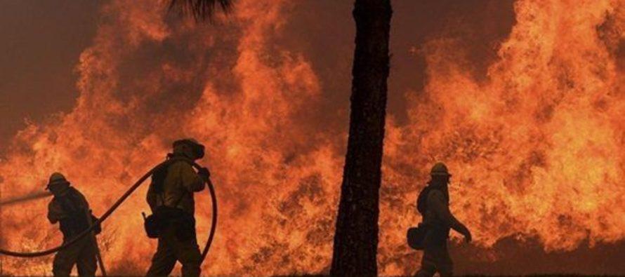 Reportan voraz incendio en West Miami-Dade