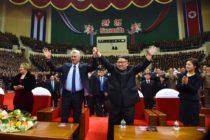 Presidente de Cuba se reúne con su homólogo norcoreano Kin Jong en Pyongyang
