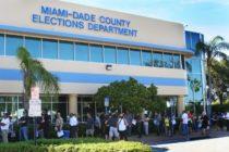 Centros de votación en Miami-Dade están abiertos para votar