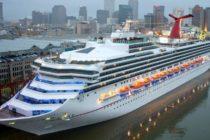 El caos estalla en Carnival Sunshine luego de que el barco se inclinara hacia un lado