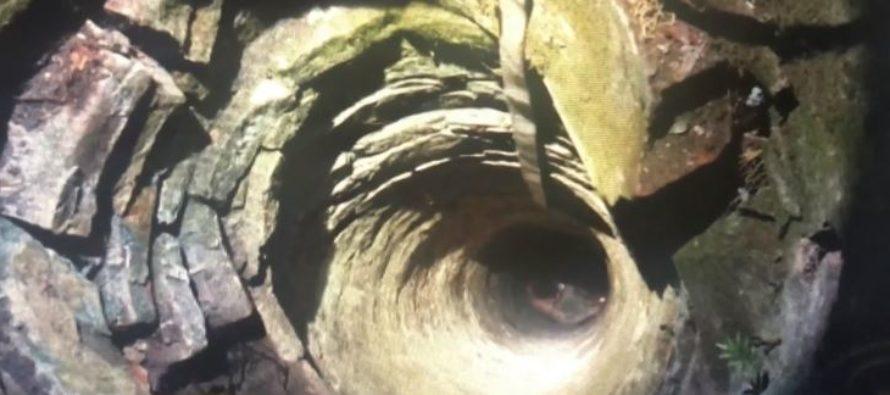 Rescatan a hombre que se quedó atascado en un pozo en Florida