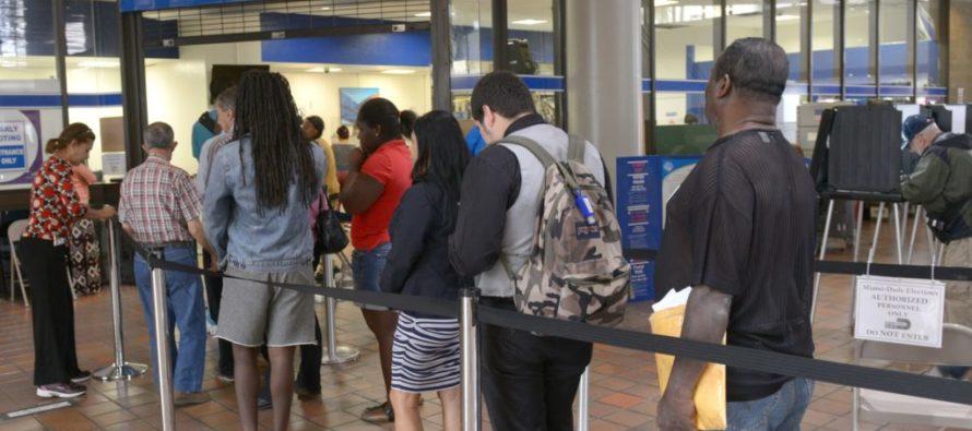 En Florida Casi 5 millones votaron antes del día de las elecciones