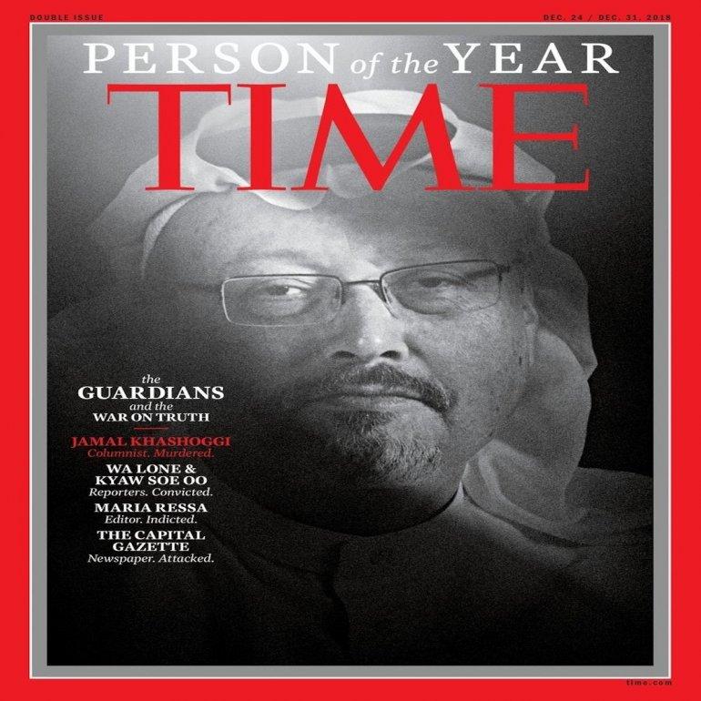 Time elige como Persona del Año a periodistas perseguidos o asesinados