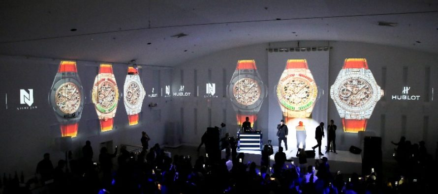 En el marco del Miami Art Week: Hublot revela el Big Bang Meca-10 Nicky Jam