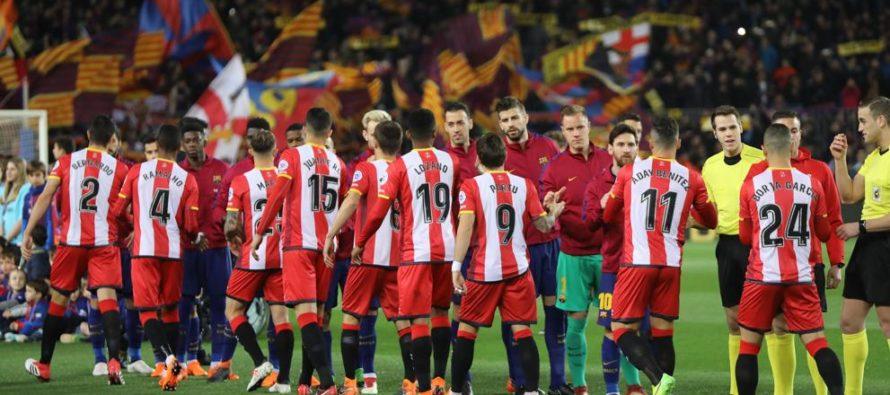 Este domingo se disputa en España el Barcelona-Girona que se jugaría en Miami