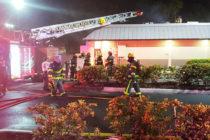 Local de Burger King se salva de incendio en la localidad de Margate