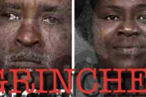 Pareja «Grinch» robaban juguetes en Brevard destinados a niños hospitalizados