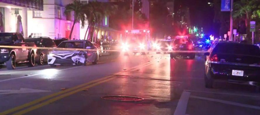 Choque en Collins Avenue creó caos en el tráfico de South Beach