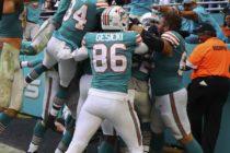 Dolphins lograron milagrosa victoria en Miami ante Patriots
