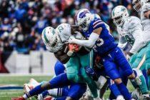 Dolphins cerraron temporada con caída ante Bills