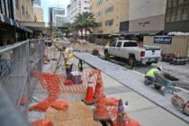 Finalizan trabajos de remodelación en la calle Flagler después de dos años