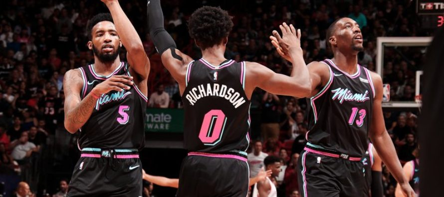 Heat consigue primera racha positiva de tres victorias seguidas en Miami
