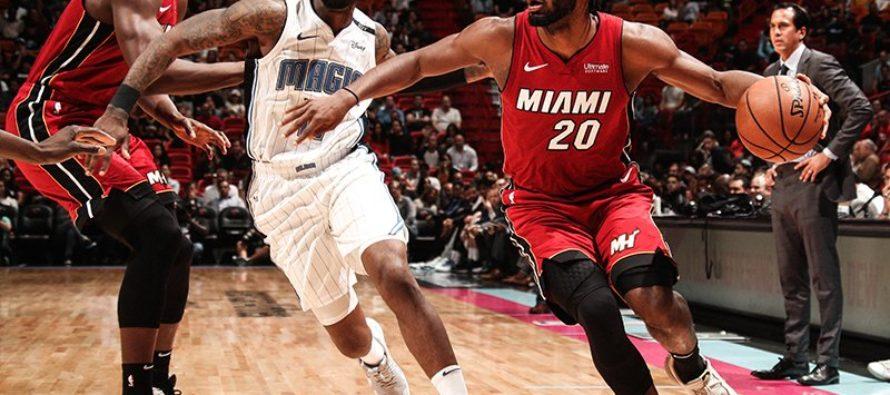 Heat no pudo mantener la racha positiva frente al Magic