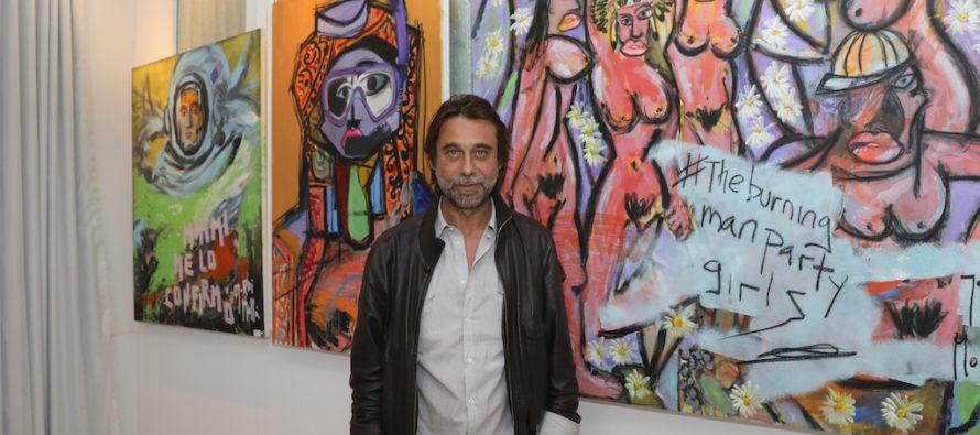 Jordi Molla muestra otra faceta en su exhibición en Mondrian South Beach