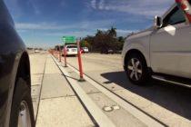 Graban a un conductor ebrio cuando transitaba por la I-95 sin dos neumáticos (Video)