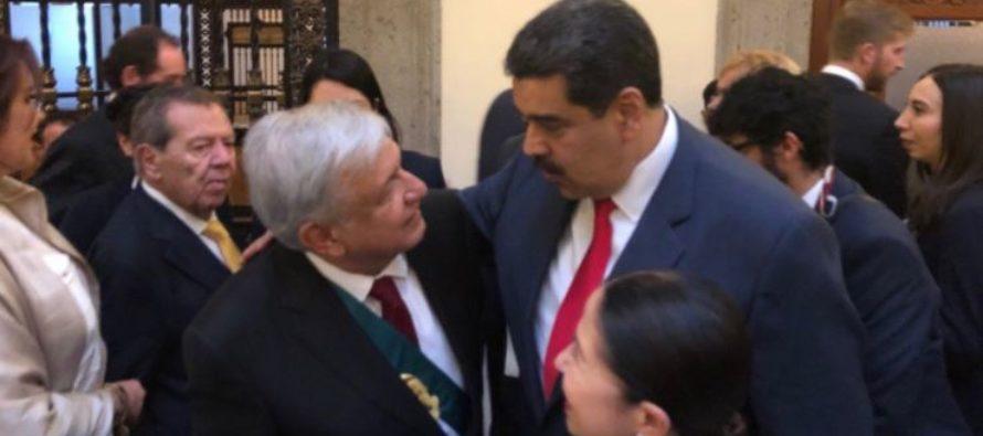 El papelón de Maduro en la toma de posesión de López Obrador